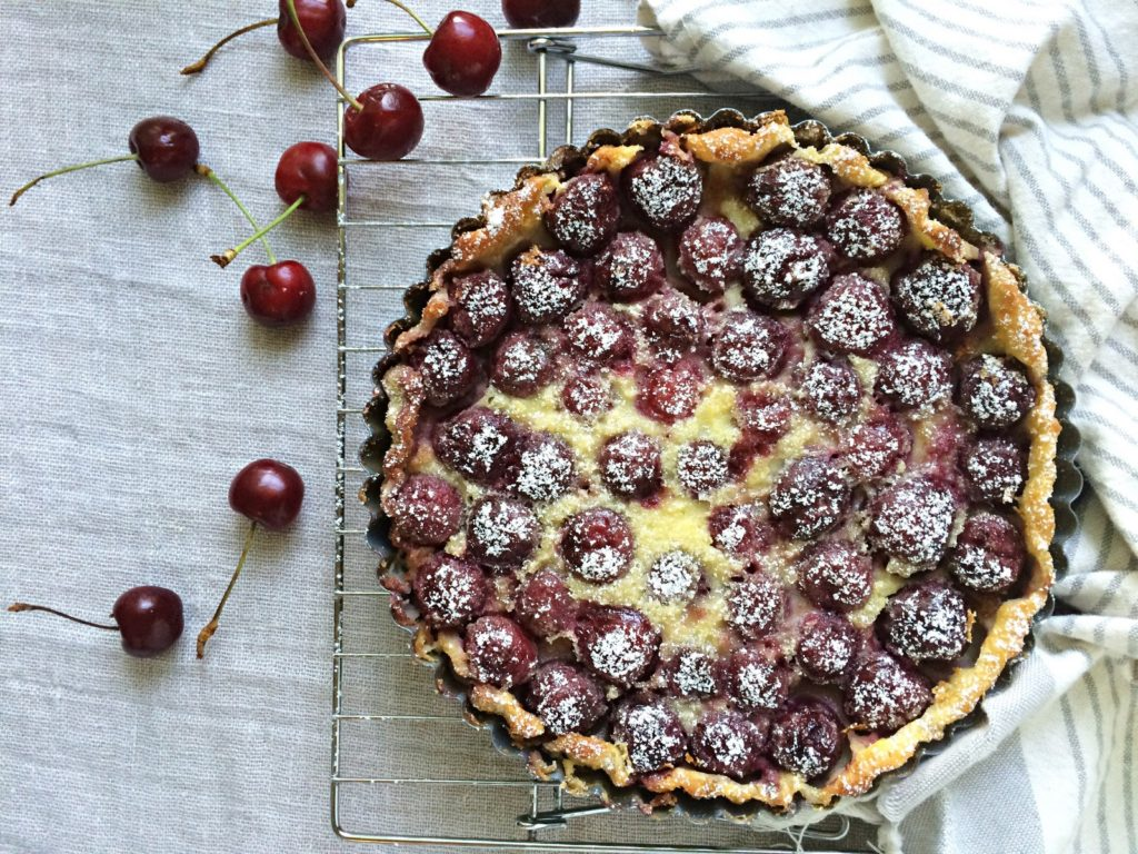Cherry Clafoutis - Baking for friends