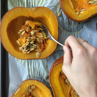 How to Roast a Pumpkin (for Homemade Pumpkin Puree)