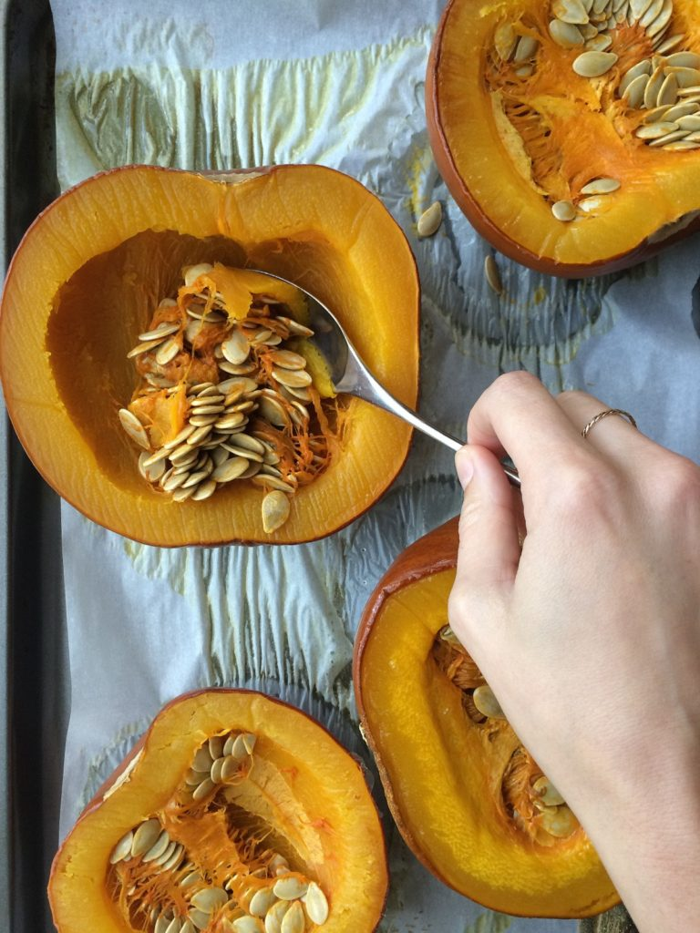Make your own Pumpkin Puree. It's easier then you think, making your own pumpkin puree! Roasting your own baking pumpkin tastes so much better and it really isn't difficult.