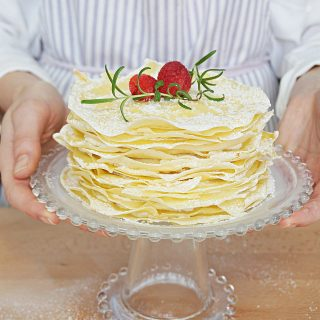 Mother's Day Lemon Crepe Cake