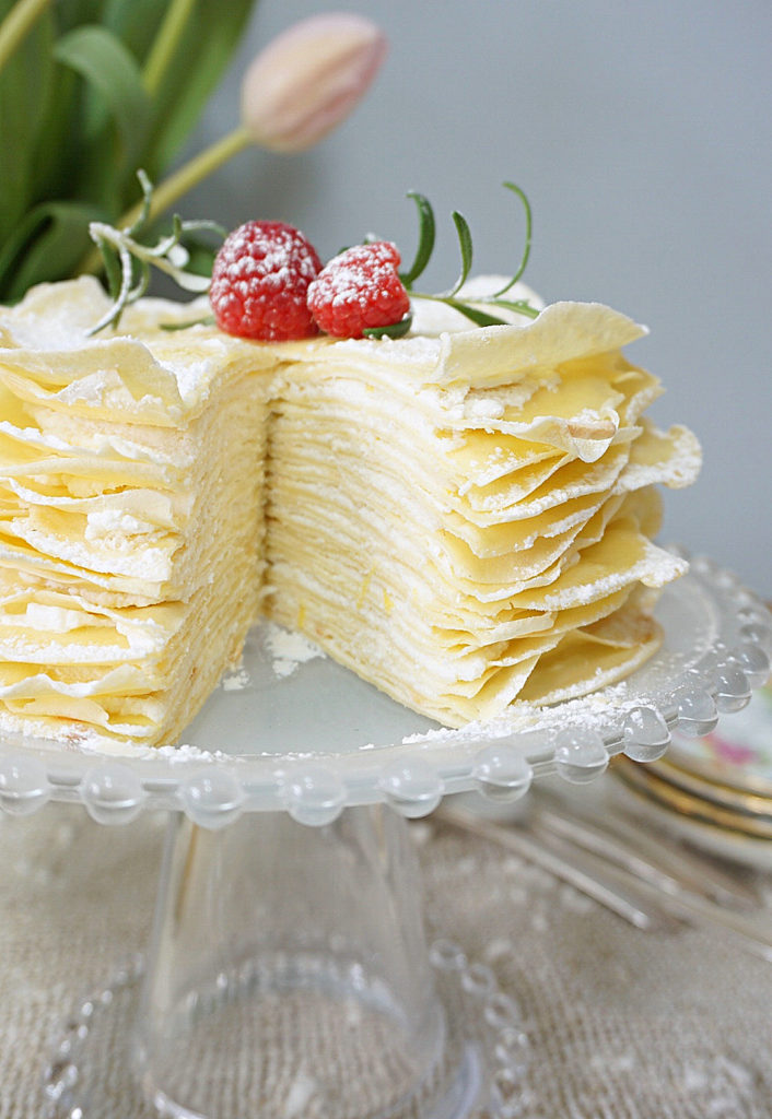 Lemon French Cream Cake Filling Recipe