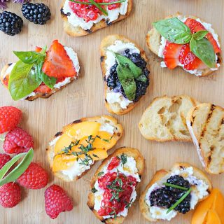 Brown Butter Crostini
