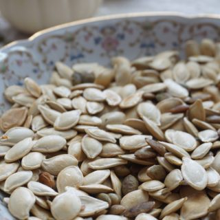 Simple Toasted Pumpkin Seeds