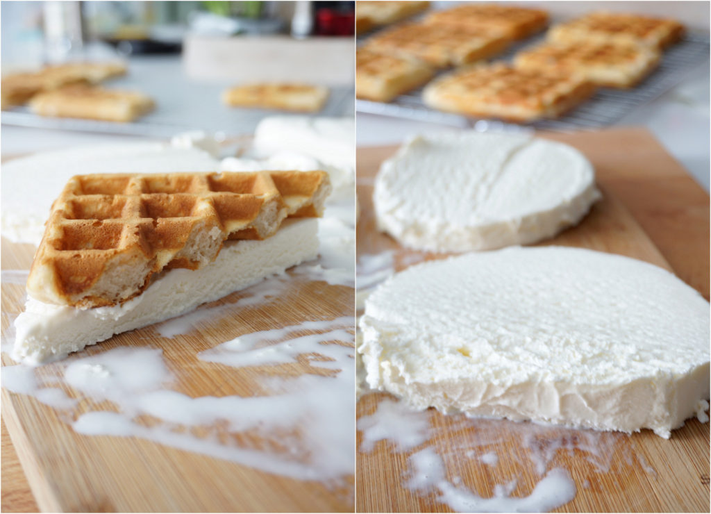 How to make the perfect homemade ice-cream waffle sandwiches
