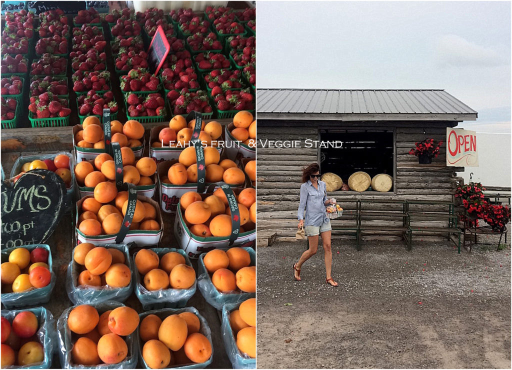 Leahy's Fruit and Veggie Stand in Lakefield, Ontario