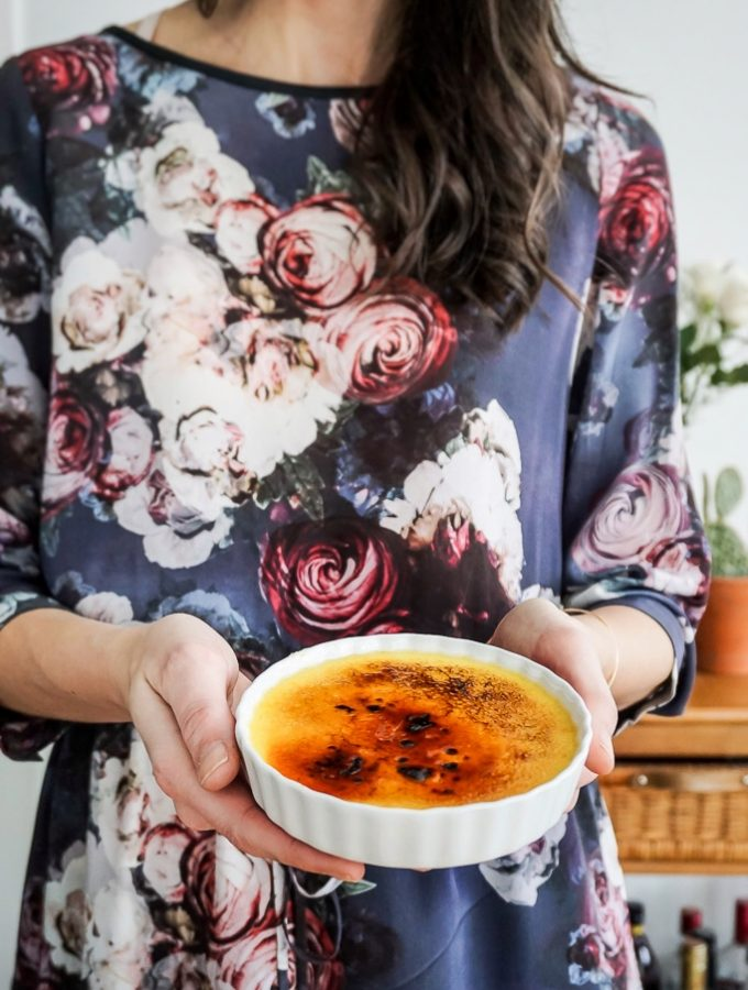 Lavender Creme Brûlée for Two