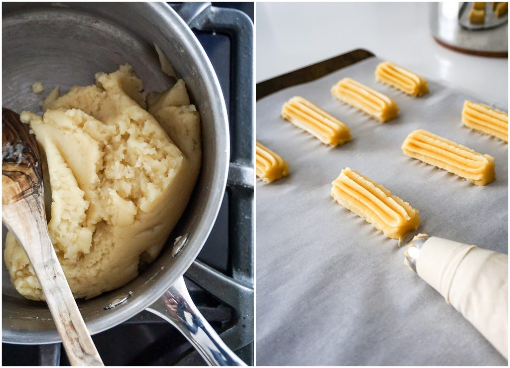 how to make mexican baked churros