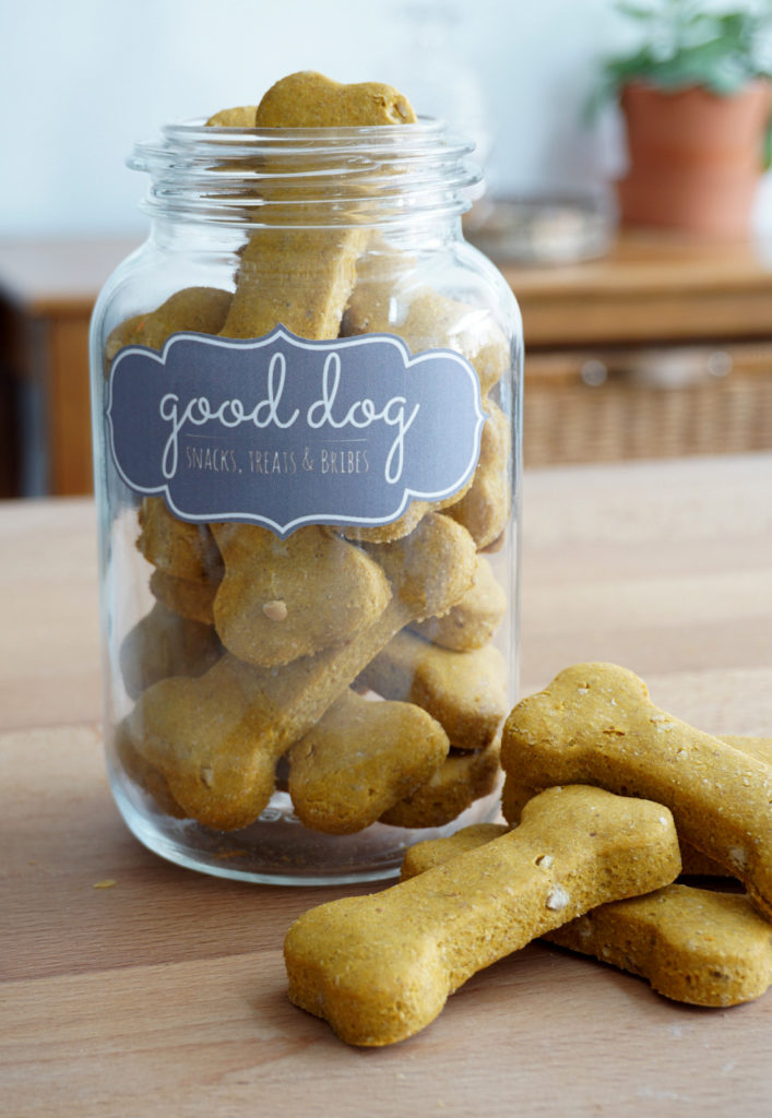 4 Ingredients Homemade Dog Treats Baking For Friends